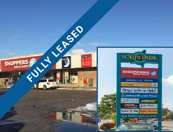 Brantford North Park Plaza - Fully Leased